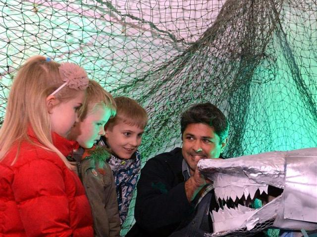 Marine explorer and documentary film-maker Ryan Johnson, of South Africa, discusses sharks...