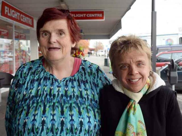 Lynne Stringer of Gore and Sarah King of Invercargill.