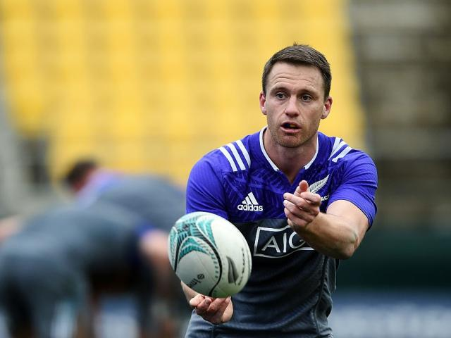 Ben Smith at All Blacks training. Photo: Getty Images