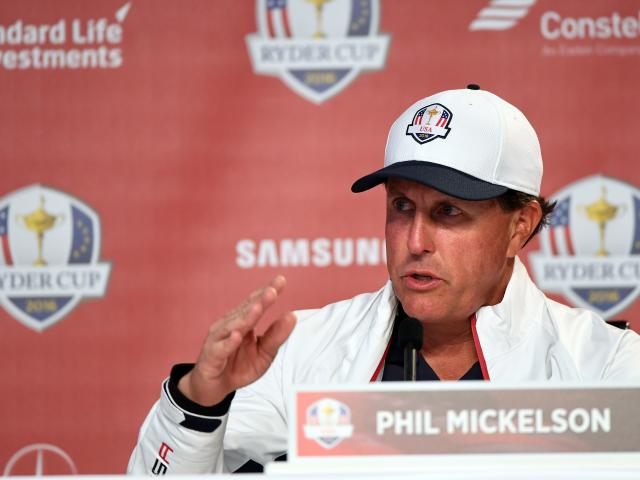 Phil Mickelson. Photo: Reuters