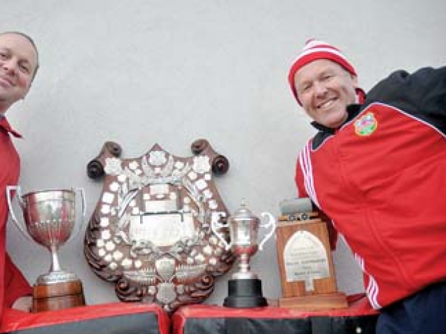 Allan Lindsay (right) has joined Pirates Rugby Club as their new coach. Photo: Greymouth Star