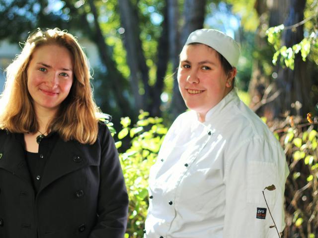 The Ahua team Macaela Prosser Welsh (left) and Mel Margison. Photos by Dani Johnson.