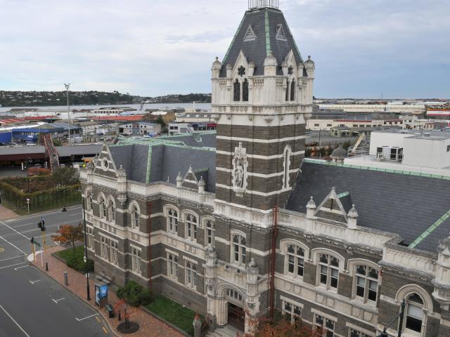The Dunedin Courthouse refurbishment is on the Government's plans. Photo: Craig Baxter.