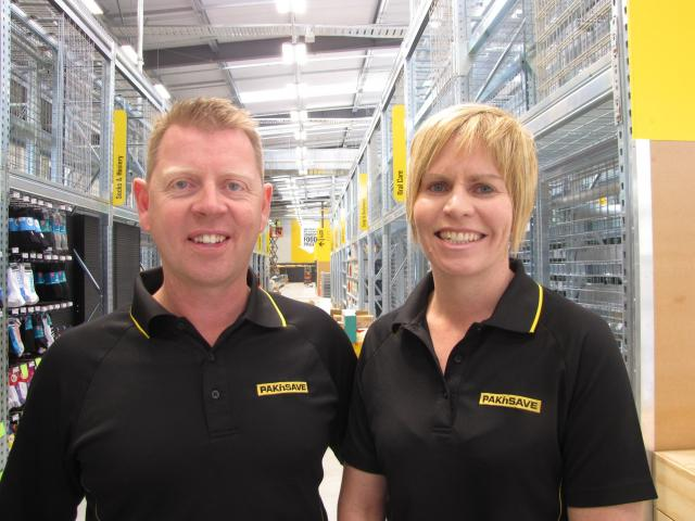 Michelle and Anthony King are opening Pak'nSave Queenstown on November 3. Photo: Philip Chandler.