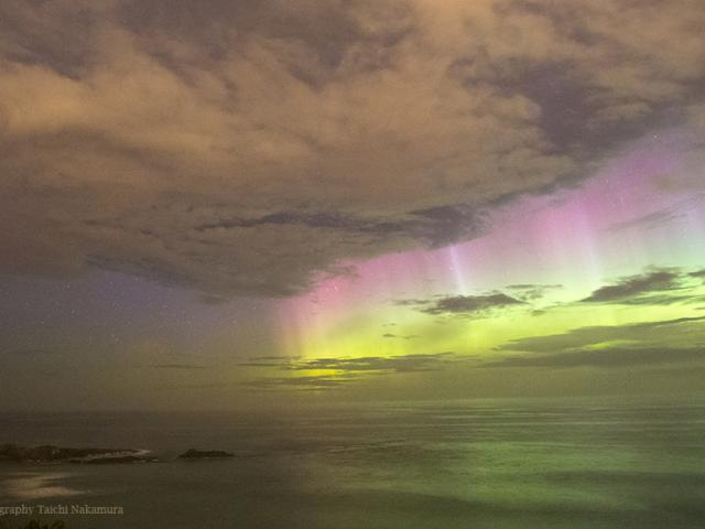 Aurora in Dunedin