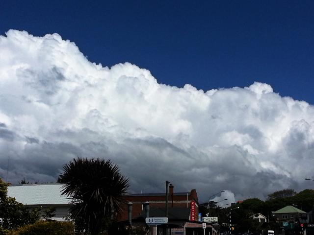 Thundercloud over Musselburgh