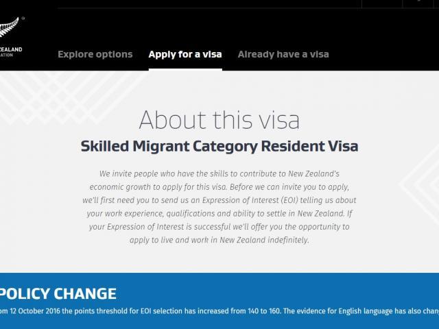 Immigration NZ apologises for skilled migrant error | Otago