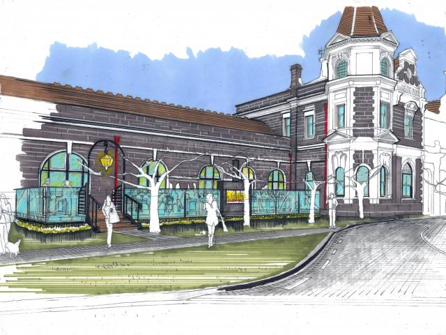 An artist's impression of the proposed deck. Image: supplied.