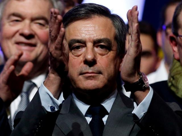 Francois Fillon. Photo Reuters