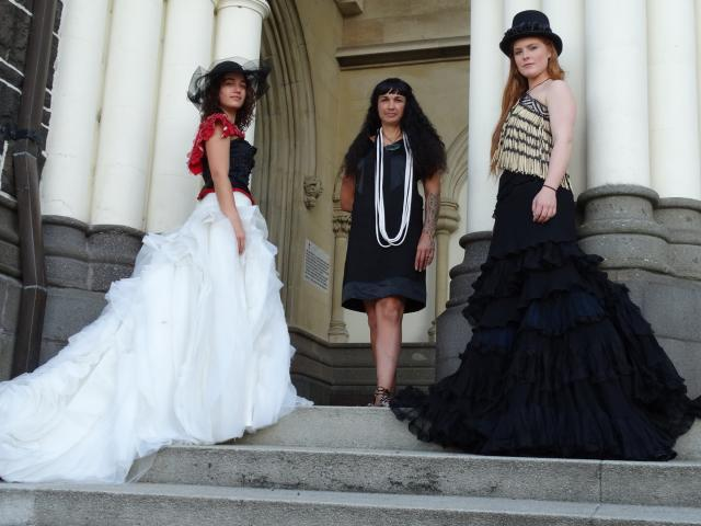 A Maori designer will have her designs show during Melbourne Fashion Festival in March. Photo:...