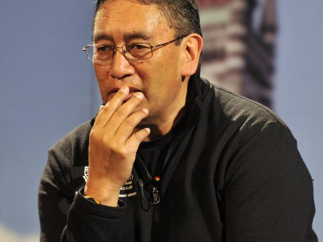 Mana Party leader Hone Harawira is to sign an electoral deal with the Maori Party. Photo: File