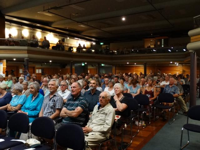 More than 200 people attended a public meeting at the Lake Wanaka Centre to hear how to save the...