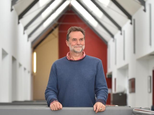 Former rubbish-truck crew member Clive Humphreys is now the acting head of Dunedin Art School....