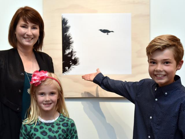 A family of winners at the 2017 Otago Wildlife Photography Competition at Otago Museum on...
