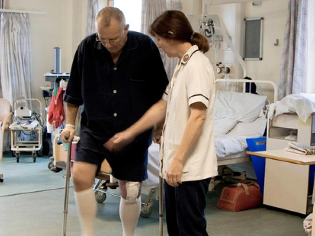 Over half of hip and knee patients are being denied appointments a new report found. Photo: NZ...