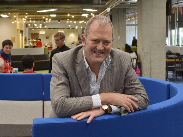 Otago Polytechnic chief operating officer Philip Cullen in the polytechnic's hub building, which...