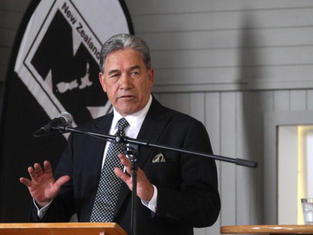Winston Peters. Photo NZ Herald