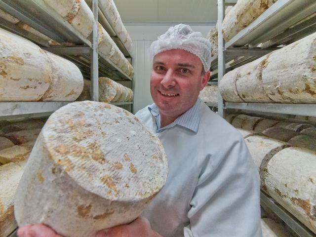 Whitestone Cheese chief executive Simon Berry. Photos: supplied.