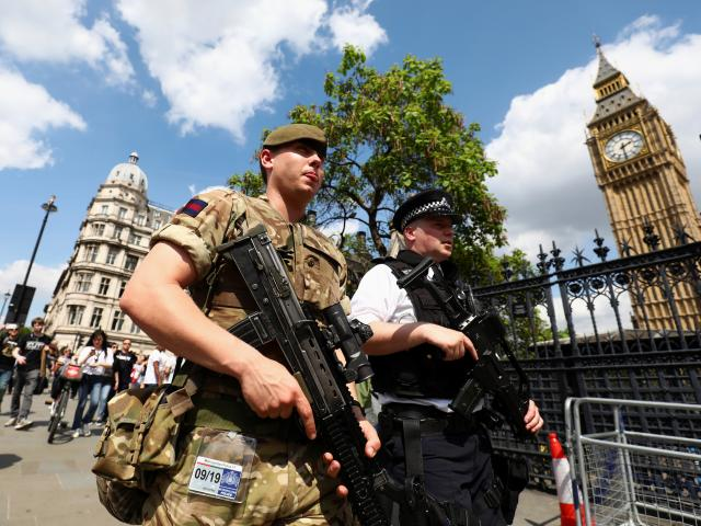 Security has been boosted in London and throughout Britain. Photo: Reuters