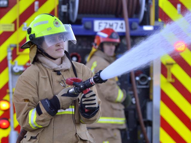 Ravensbourne volunteer recruit firefighter Dayna Gallagher is juggling the pressures of her final...