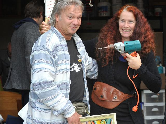 Composer and musician Trevor Coleman and Ika Peuckert, of Dunedin, sold and gave away everything...