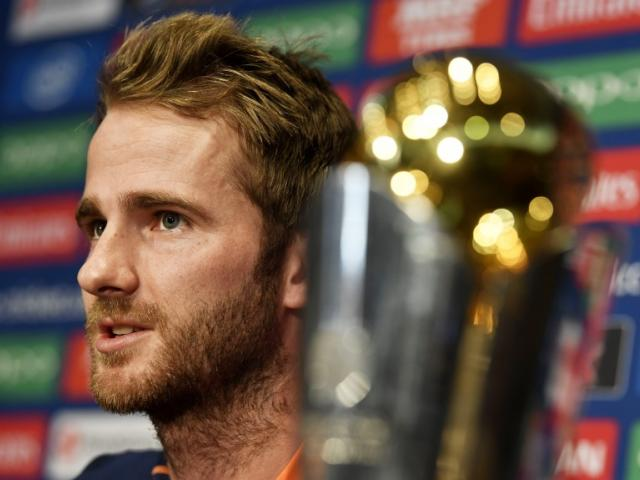 Kane Williamson at the Champions Trophy Press Conference. Photo: Reuters