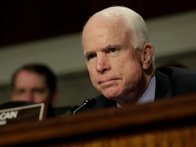 US Senator John McCain. Photo: Reuters