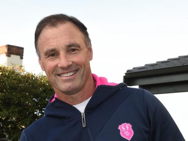 Stade Francais coach Greg Cooper back home in Dunedin this week. Photo: Gregor Richardson.