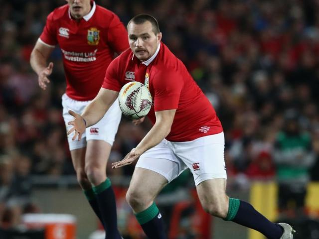Ken Owens in action for the Lions during their tour of New Zealand. Photo: Getty Images