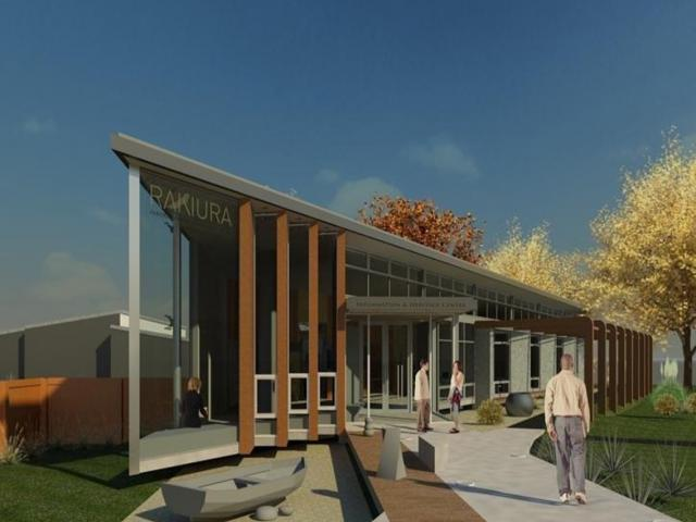 An artist's impression of what the proposed Rakiura Heritage Centre would look like. Image:...