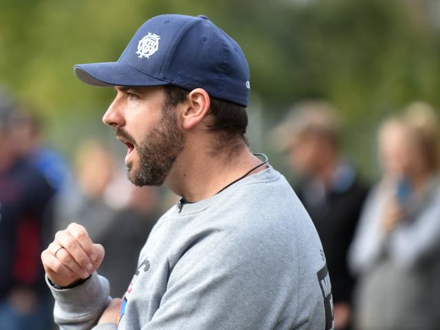 OBHS coach Ryan Martin. Photo: Peter McIntosh
