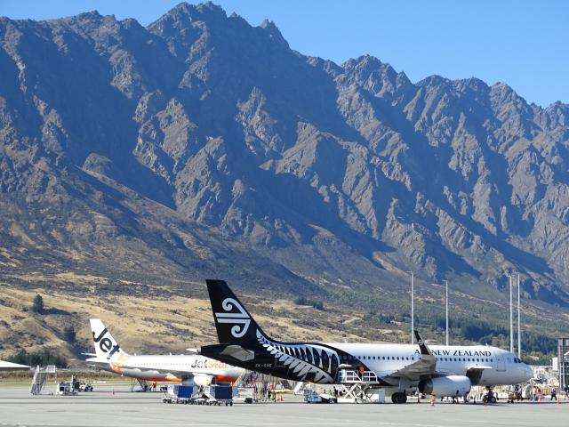 Auckland International Airport's profit boost included a $3million contribution from Queenstown...