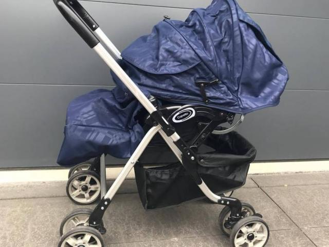 """The pram that was not a """"good look"""" for the Christchurch beauty parlour. Photo: NZ Herald/Supplied"""