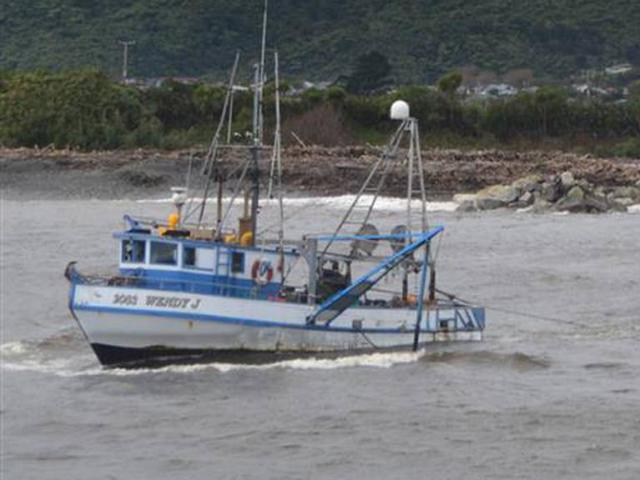 The Greymouth-based Wendy J sank after getting into trouble off South Westland on Thursday night....