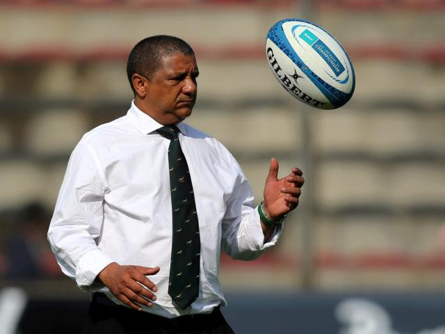 South Africa coach Allister Coetzee. Photo Reuters