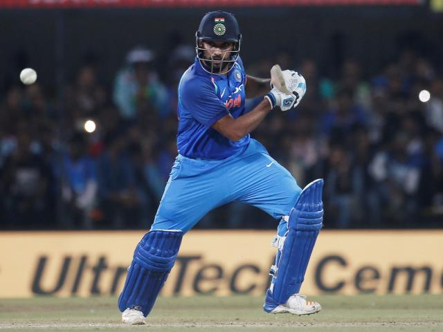 Rohit Sharma got India off to a fast start in their run chase. Photo Reuters