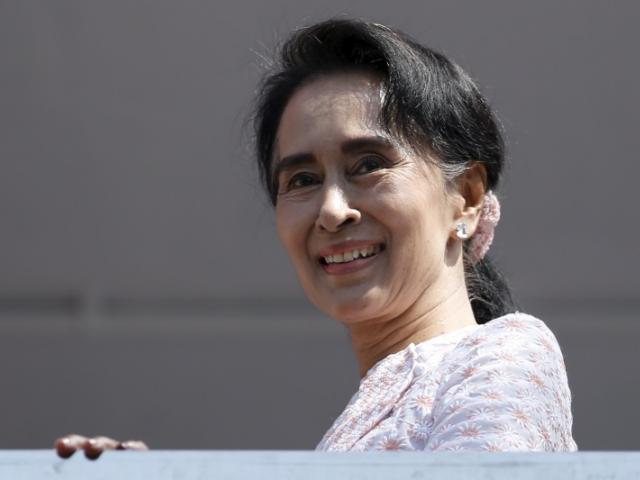 Aung San Suu Kyi. Photo by Reuters