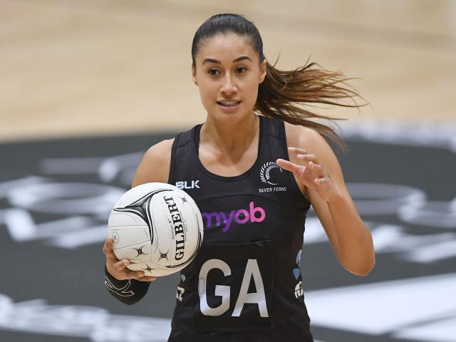 Silver Fern Maria Tutaia. Photo: Getty Images