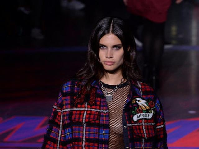 "Hilfiger's show was a ""see now, buy now"" event - a recent trend in the fashion industry that sees labels make outfits displayed in catwalk shows available to consumers to purchase immediately. Photo: Reuters"