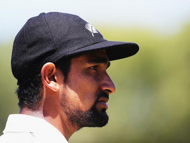 Ish Sodhi was the pick of the New Zealand bowlers. Photo: Getty Images