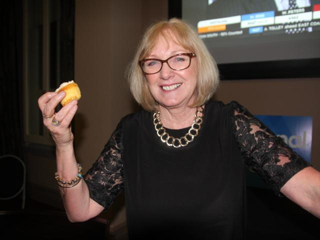 Incumbent Waitaki Electorate MP Jacqui Dean  minutes after her election win. She said her cupcake...