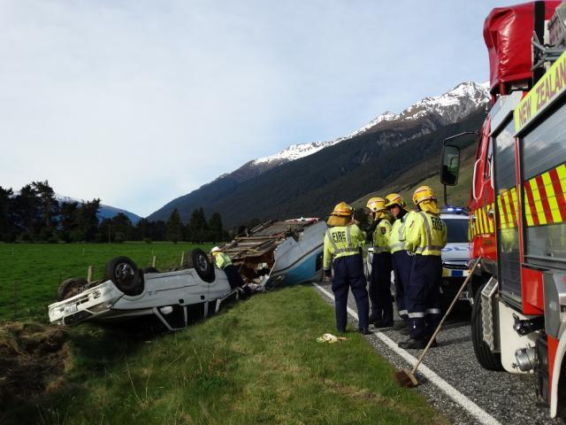 Police are continuing their investigations into an accident on State Highway 6 just north of...