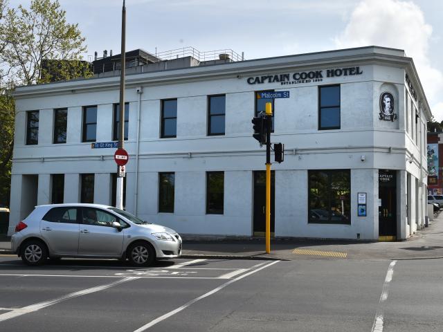 The Captain Cook Hotel has shut again. Photo: Gregor Richardson