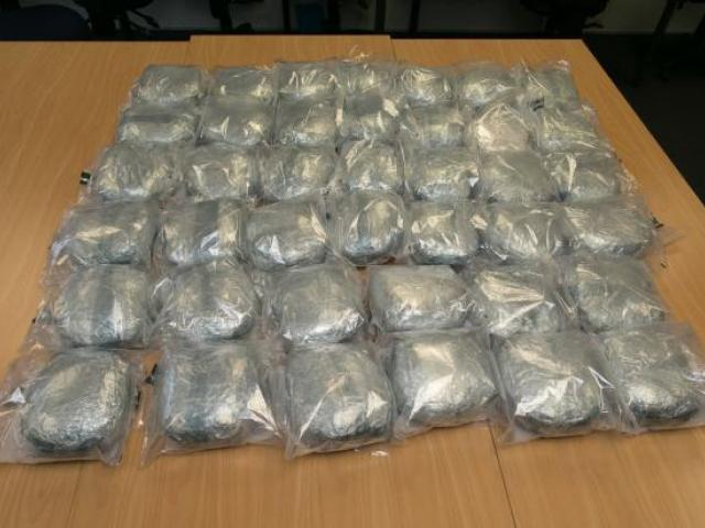 The haul was said to be the largest that police have made in the South Island. Photo NZ Police
