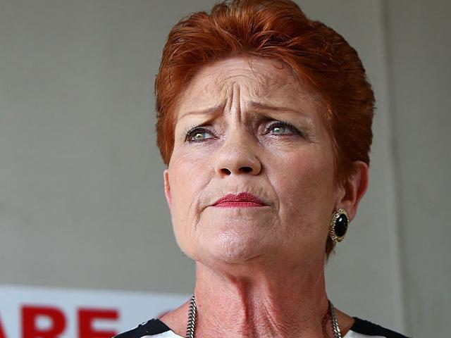 Pauline Hanson. Photo Getty