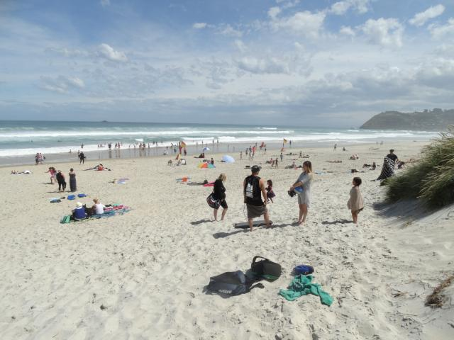 Warm temperatures will be caused by northerly winds coming across the Southern Alps. Photo:...