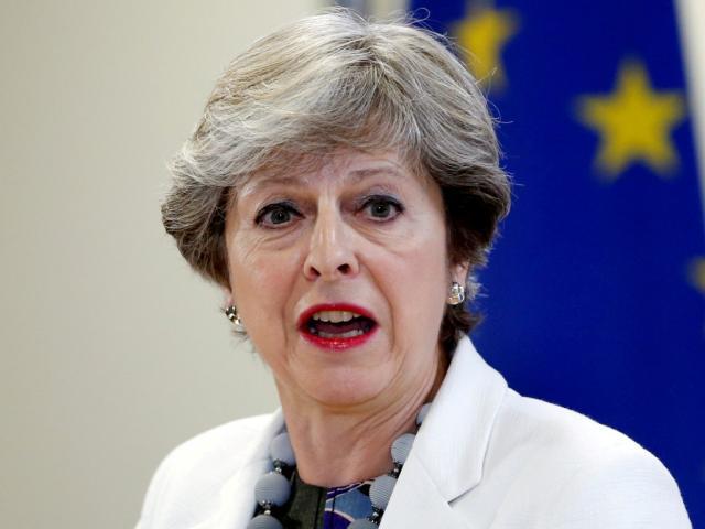 Theresa May. Photo Reuters