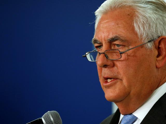 US Secretary of State Rex Tillerson. Photo Reuters