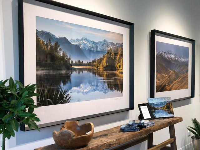 The gallery showcases the best of Todd and Sarah's landscape photography.