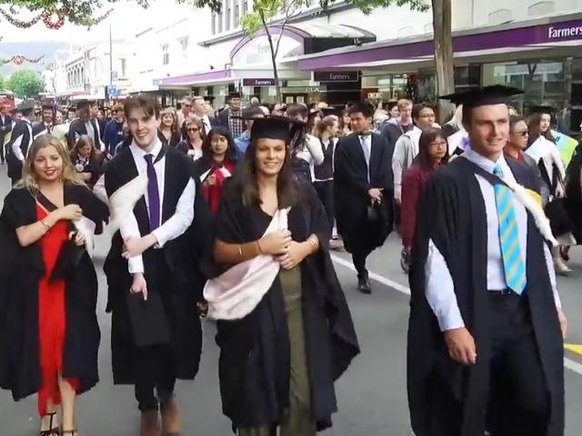 University of Otago graduation. Photo: Craig Baxter (Dec 13 '17)
